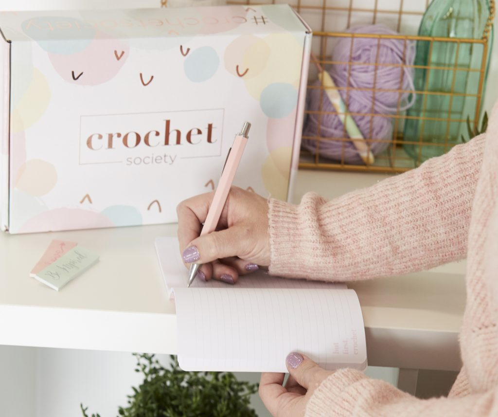 crochet society notebook