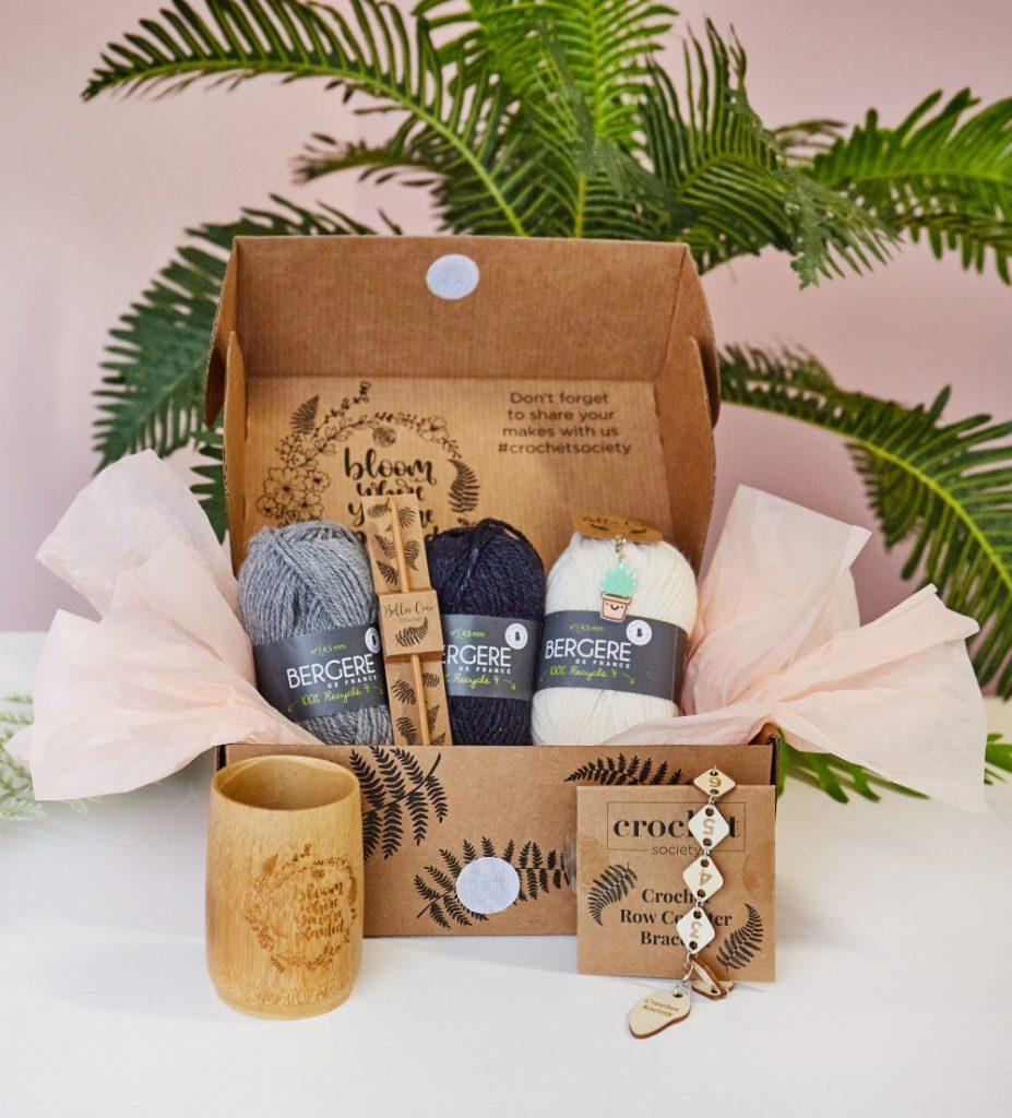 Box 21 crochet society open box