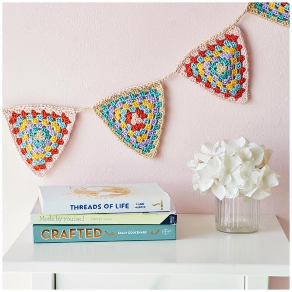 crochet bunting pattern free