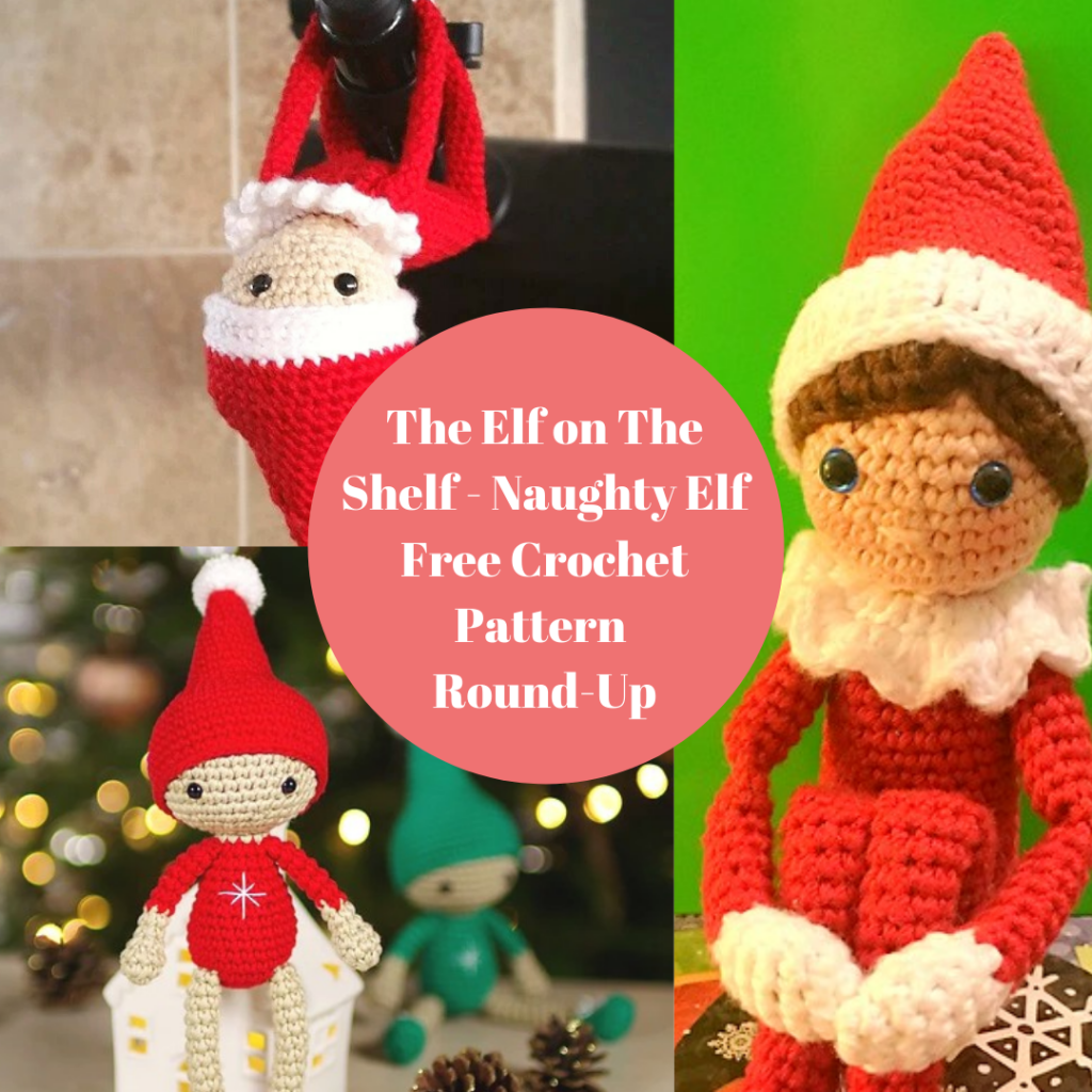 Amigurumi Christmas Elf Free Crochet Pattern - Amigurumi Free Patterns | 1024x1024