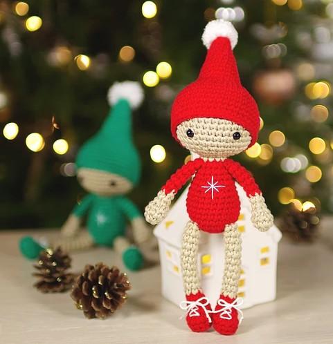 The Elf on The Shelf - Naughty Amigurumi Elf Free Crochet Pattern ... | 498x481