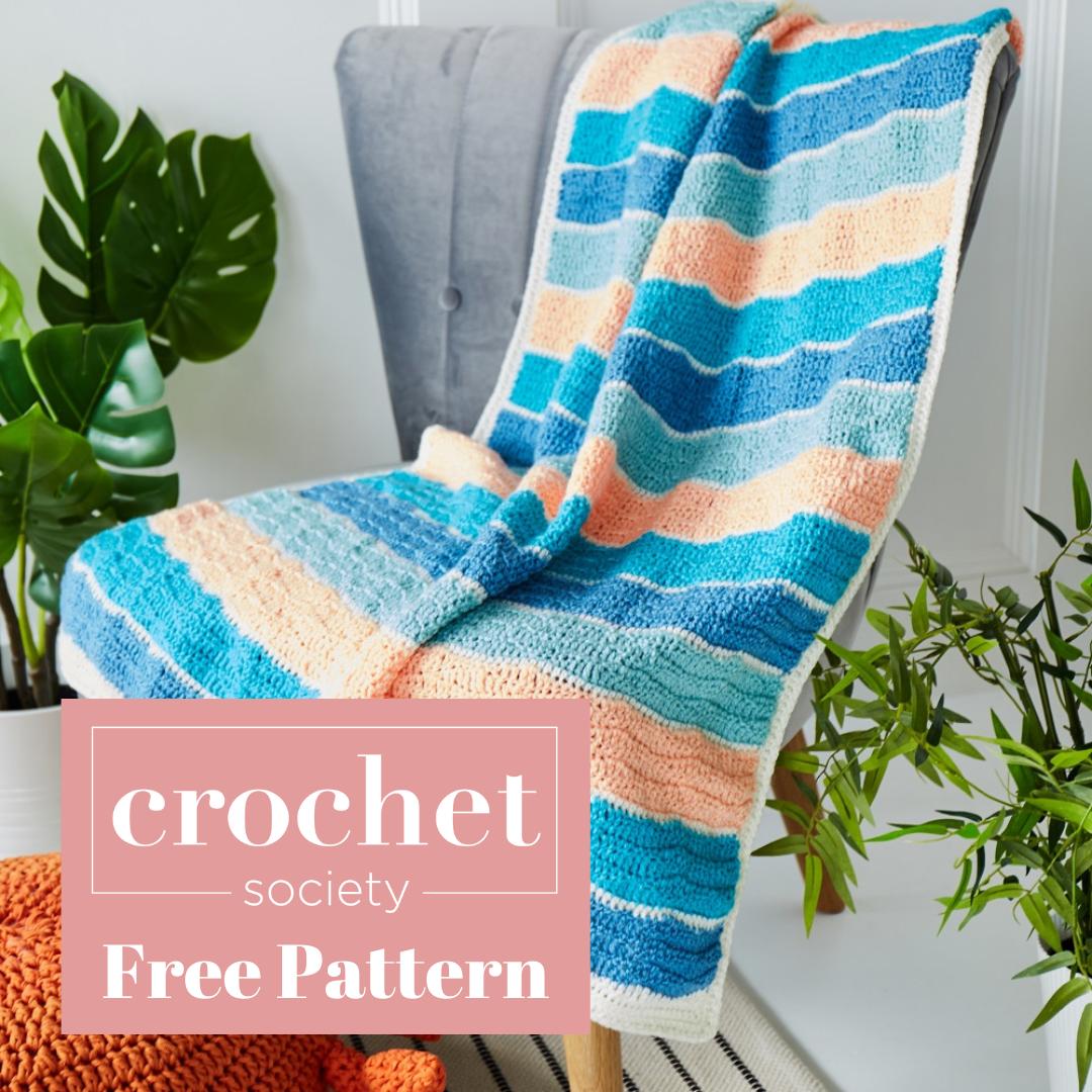 free blanket pattern to crochet