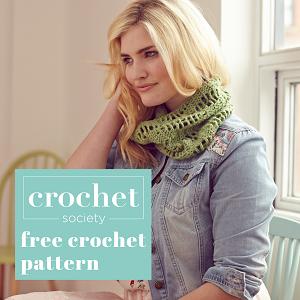 free cowl crochet pattern thumnail