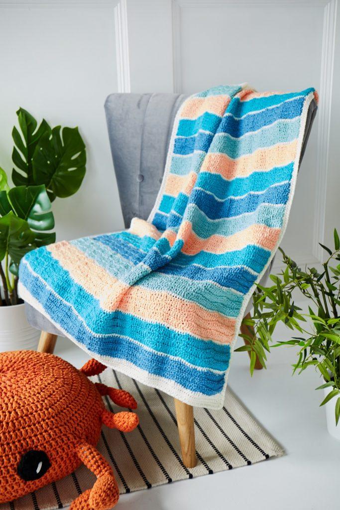 free crochet blanket pattern 3