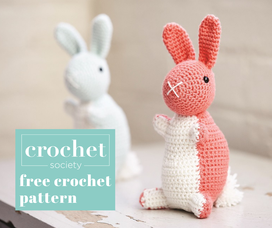 63 Free Crochet Bunny Amigurumi Patterns ⋆ DIY Crafts | 788x940