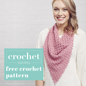 free crochet shawl pattern thumbnail