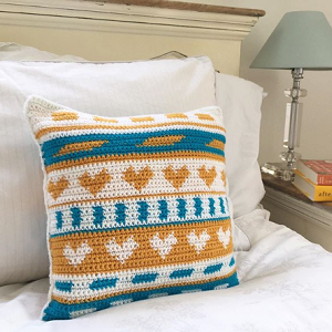 crochet cushion pattern