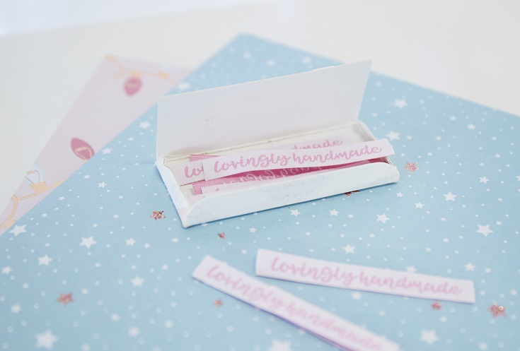 lovingly handmade labels