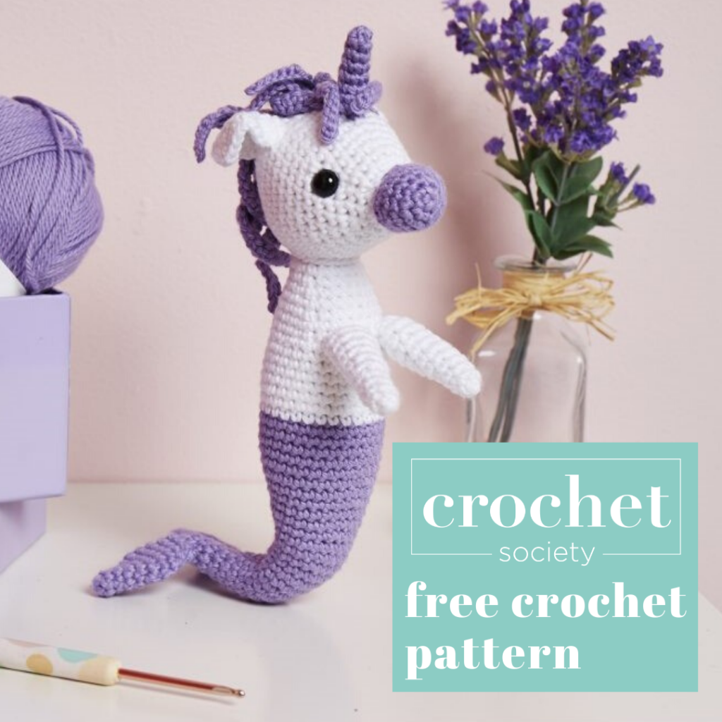mermicorn mermaid unicorn crochet pattern
