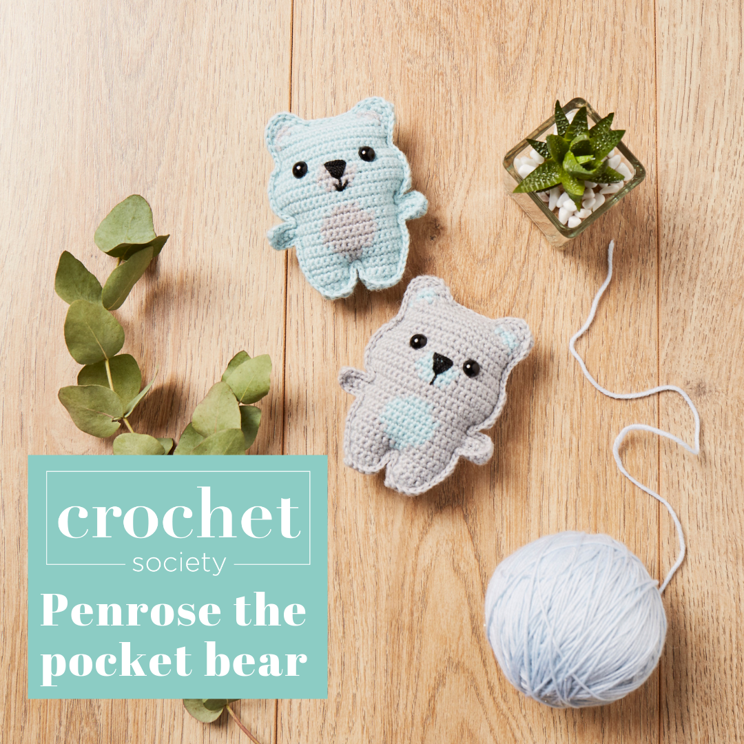 penrose the pocket bear crochet pattern box 1