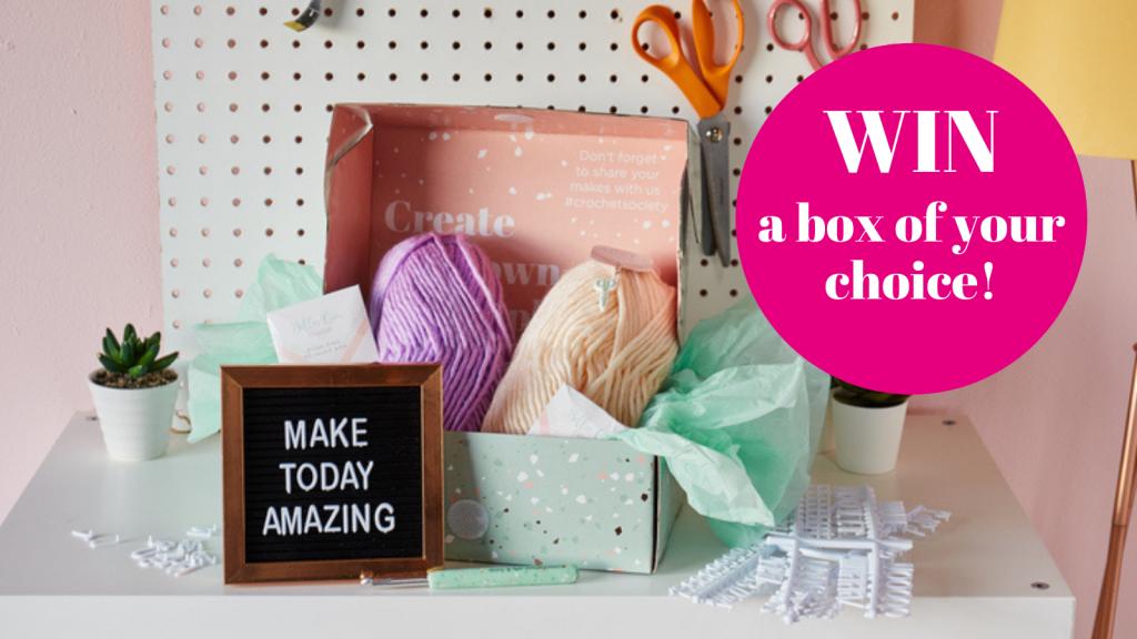 win a crochet society box