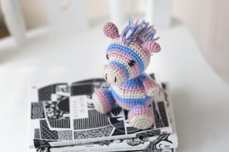 crochet zebra pattern